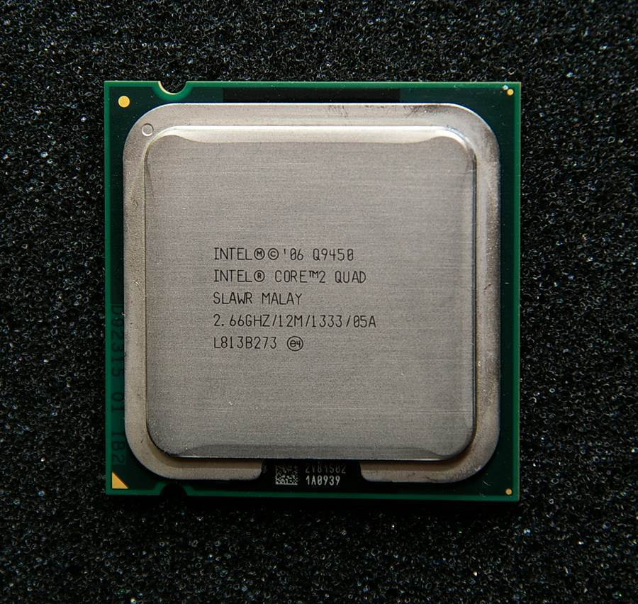 intel core 2 quad q9450 processor 12mb 1333mhz lga 775 cpu in cpus from computer. Black Bedroom Furniture Sets. Home Design Ideas