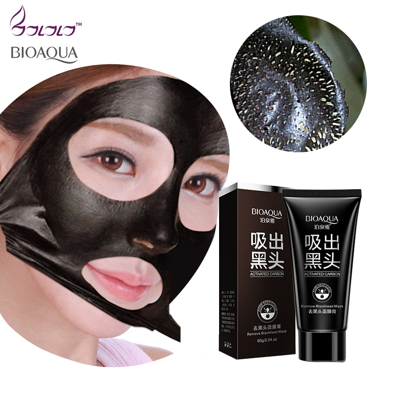 Black nose mask blackhead remover ,Deep Cleansing purifying peel acne black mud whitening face mask for Beauty &skin care Комедон
