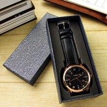 Подарочная коробка для часов упаковка длинный дизайн Прочный Модный чехол для хранения для свадебной вечеринки FDC99