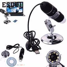 Buy online Esddi New 2MP 1000X LED USB 2.0 Digital Microscope Endoscope Zoom Camera Magnifier+Stand Education School Student Mini Camcorder