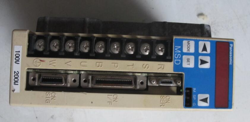 Servo drive  MSD021A2XX   , Used one , 90% appearance new  ,  3 months warranty , fastly shipping   Servo drive  MSD021A2XX   , Used one , 90% appearance new  ,  3 months warranty , fastly shipping
