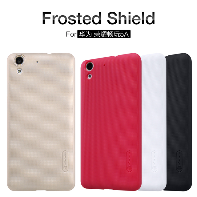 the best attitude f6951 6dd6a US $7.99 |Nillkin For Huawei Honor 5A Back Case Cover Hard Case Phone Shell  For Huawei Honor 5A Super Frosted shield -in Half-wrapped Case from ...
