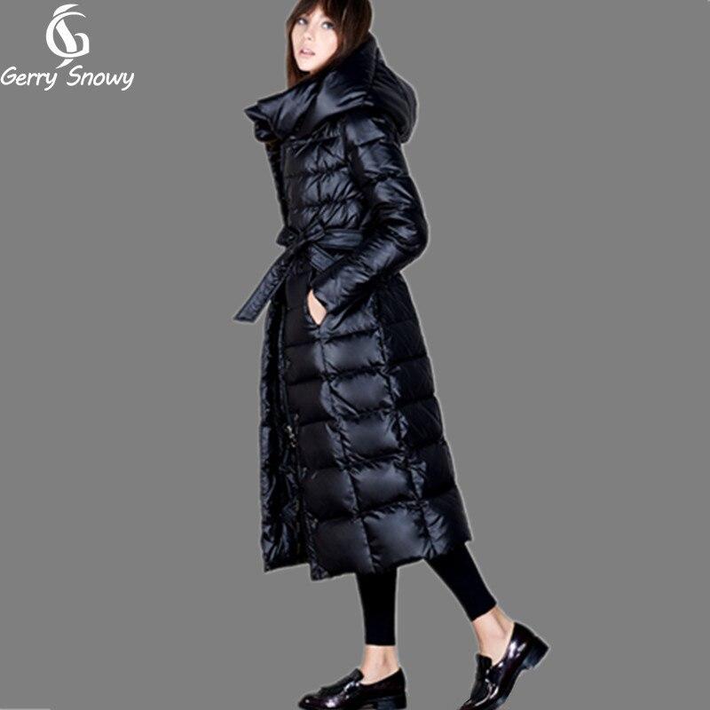 US $197.99 |Kurtka puchowa zimowa 2019 damska długa kurtka puchowa pogrubienie wydłużają Plus rozmiar 4XL biała kurtka puchowa zimowe damskie w