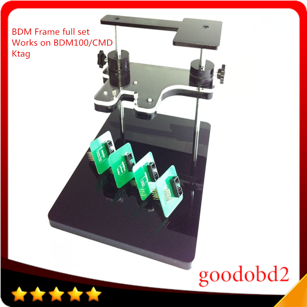 BDM Frame With Aapters Works BDM Programmer CMD 100 Full Sets Fits For FGTECH bdm100 kess use for ktag k-tag ECU programmer tool