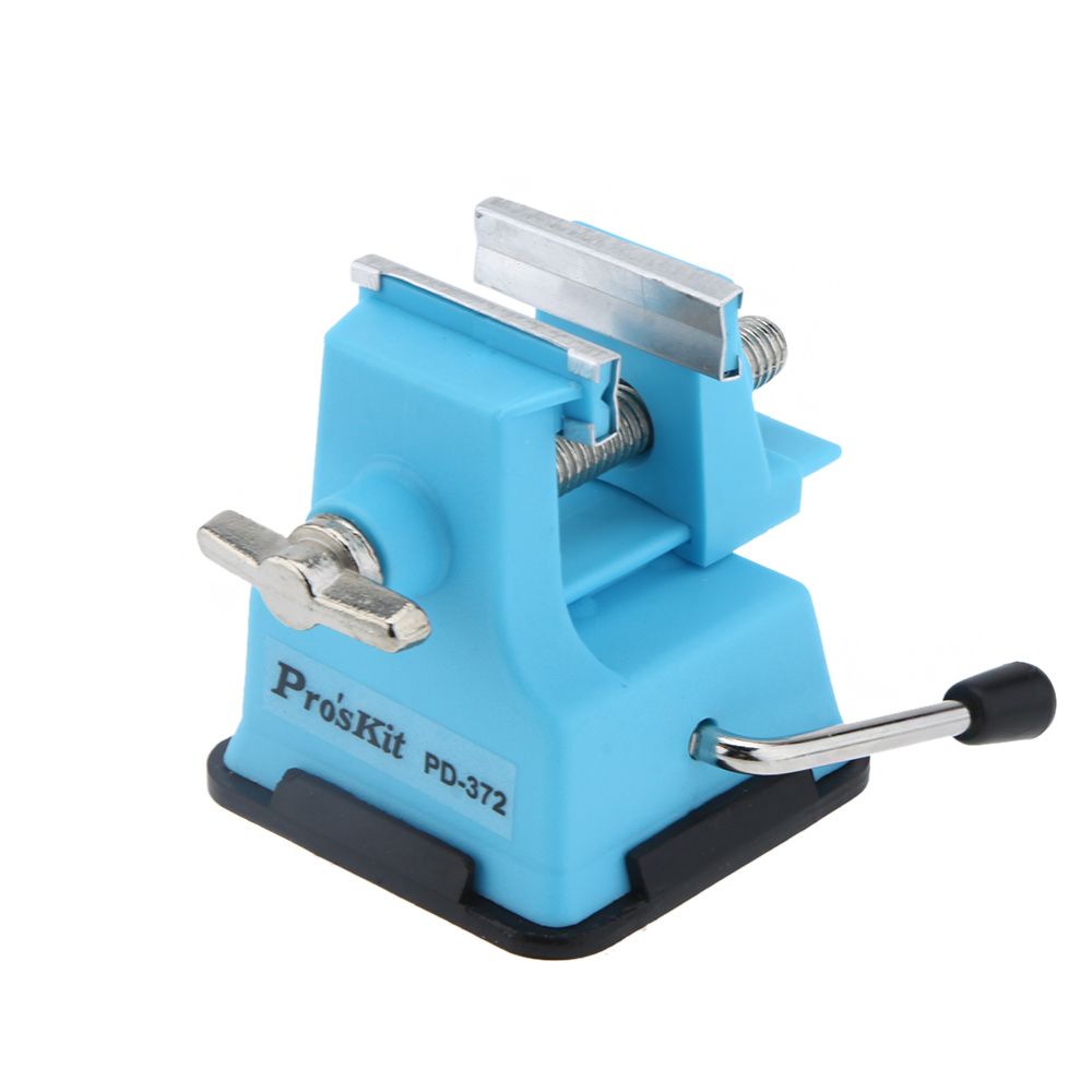 ProsKit PD-372 Mini Vise Bench Working Table Vice Bench DIY Jewelry Craft Mould Fixed Repair Tool Jaw Multi-tool pliers