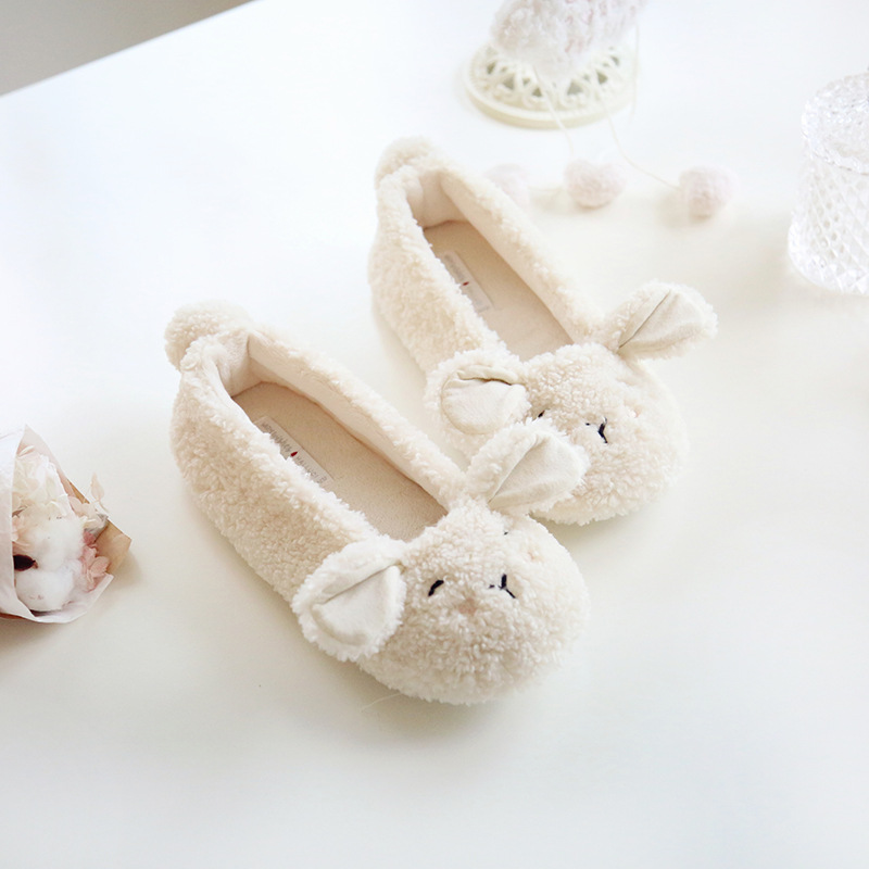 Animal Cartoon New Warm Home Slippers Women House Shoes For Bedroom Guest Female Slippers Winter Girls Ladies Soft Flats cotton cute slippers women penguin animal home slippers indoor shoes bedroom house adult guest warm winter soft flats ladies