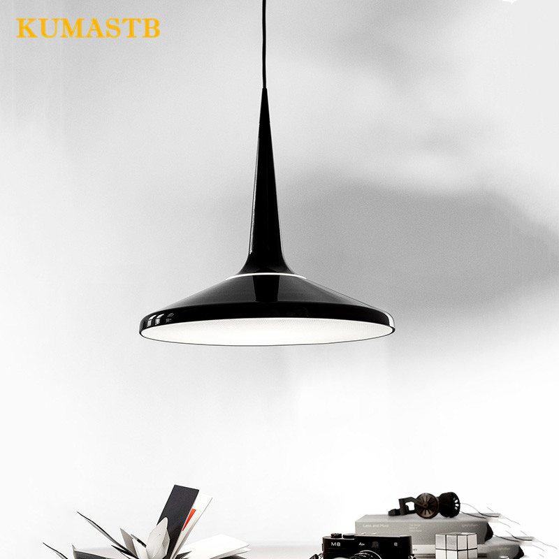 Danish Simple Juicy Pendant Light Dinning Room Pendant Lamp Black Hat Hanging Lamp Bedroom Living Room Lighting hand made wool felt hat aluminum suspension lamp cap jeeves and wooster pendant light hanging lighting dinning hall couture