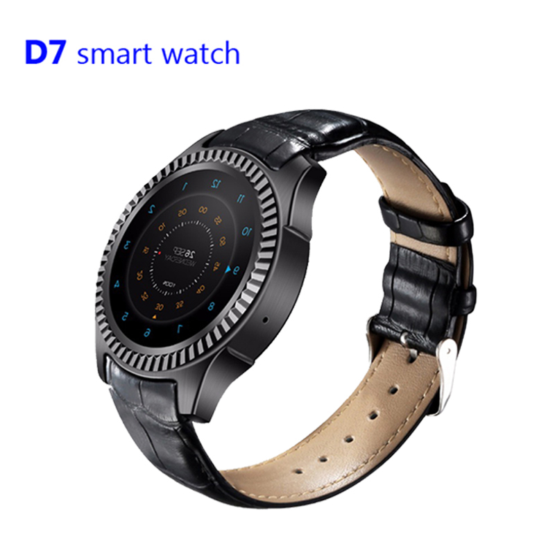 On sale D7 Smart Watch MTK6572 Dual Core Smartwatches 500MAH Long standby GPS WIFI 3G Bluetooth 4.0 Wearable Clock Devices smart baby watch q60s детские часы с gps голубые