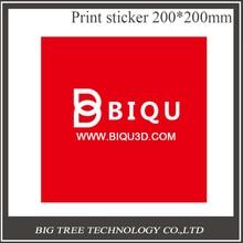 Bigtree Tech 10 ШТ. 200*200 ММ Красный/Черный Художник Печати Кровать Ленты Печати Наклейки Сборки Пластины Ленты