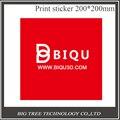Pintor Bigtree Tech 10 PCS 200*200 MM Vermelho Cama de Impressão Impressão Fita Etiqueta Fita Placa Construir