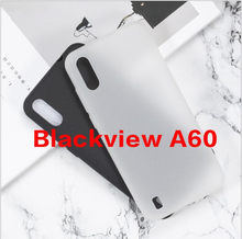 Phone Case For Blackview A60 Fundas Back Cover For Blackview A60 Case Soft TPU Matte Pudding Gel Silicone Cover Funda(China)