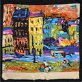 100% Silk Scarf Women Scarf Street View Hijab Scarf Silk Big Bandana 2017 Top Wrap Middle Square Silk Scarf Hot Gift for Lady