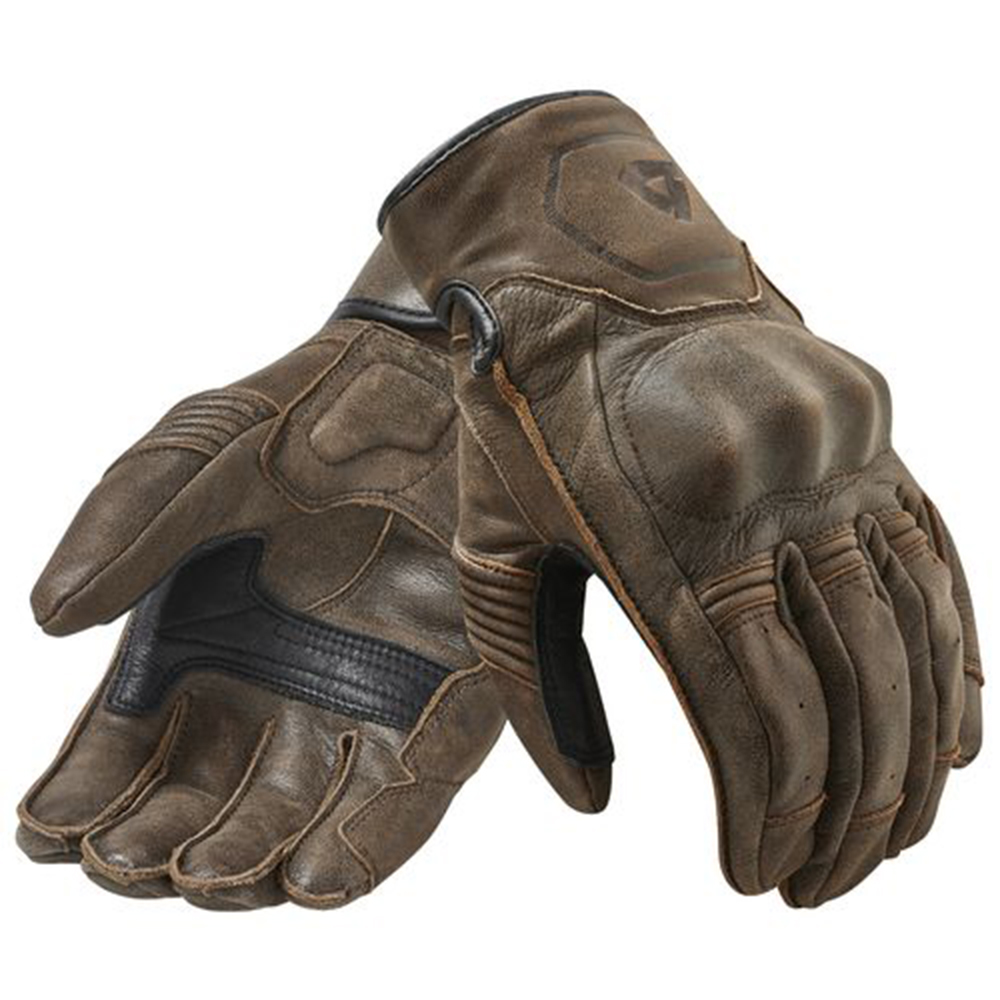 Revit Palmer Motorcycle Bike Retro Urban Classic Gloves Lightweight Genuine Cowhide Leather Gloves