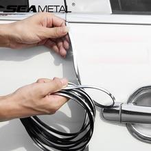 Двери автомобиля край царапинам протектор полоски гвардии отделка Авто наклейки протектор для KIA Toyota BMW Audi Ford Mazda средства укладки волос