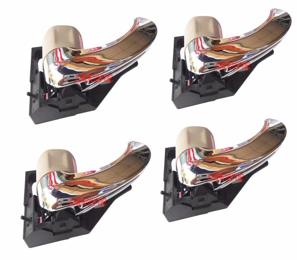 Для Toyota Camry 2007-2011 XV40 хром Ручка крышки отделки комплект для Daihatsu Altis Aurion 2008 2009 2010 аксессуары стайлинга автомобилей