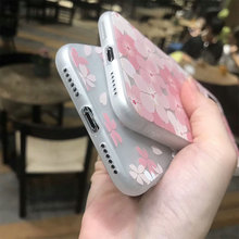 3D Pink Relief Phone Case iPhone 6 6s Plus  7 7 Plus 8 X 10