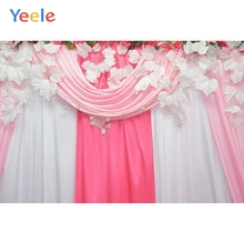 Yeele Wedding Party Decor Curtain Love Customized Photography Backdrops Personalized Photographic Backgrounds For Photo Studio