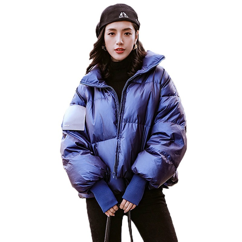 Dames neige porter épais chaud mode pardessus hiver manteau femmes vêtements coupe-vent imperméable blanc canard vers le bas doudoune B110