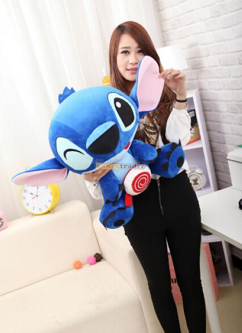 Fancytrader 25\'\' 65cm 2015 Limited Edition Giant Plush Stuffed Stitch, Free Shipping FT90146 (5).jpg
