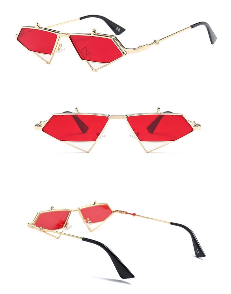 flip up sunglasses men punk style detail (4)