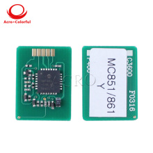 44059168 44059167 44059166 44059165 Toner chip for OKI MC851 MC861 MFP EU ME laser printer copier cartridge refill цена в Москве и Питере