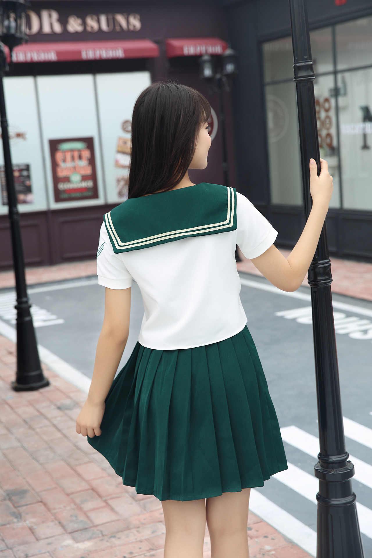 High Quality Girl Japanese Uniform Sailor School Uniform -6210