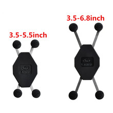 Mobile Phone Cradle Holder for Universal X   Grip Cellphone with 1 Inch Ball for RAM Mounts
