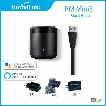 Broadlink RM Mini3 Universele Intelligente WiFi/IR/4G Smart Afstandsbediening Met EU/UK/US power Plug IOS Android Domotica