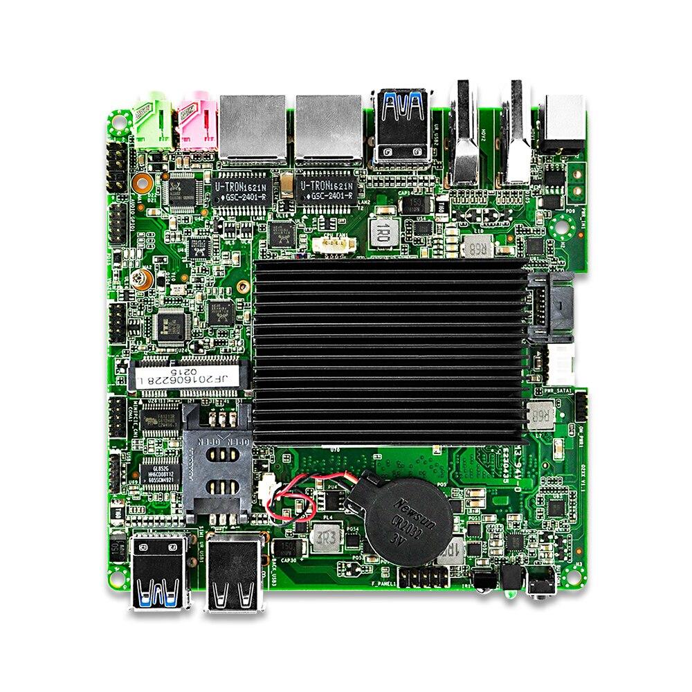 OEM Qotom mini pc board Q3060G2 P celeron J3060 dual core Low Power 6W 3Display Fanless