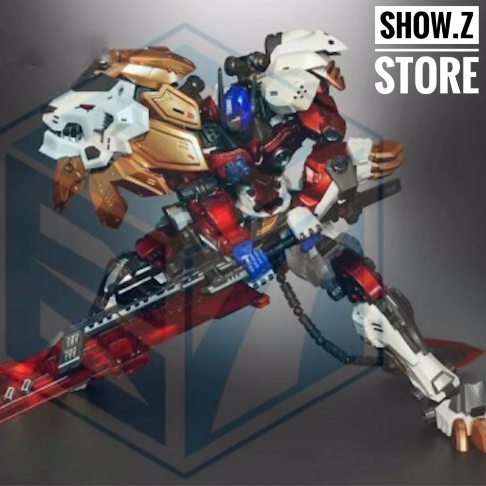 [Show.Z Store] NeoArt Toys DX08 Origin Leonidas White Perfect Effect PE Transformation Action Figure model fans in stock neoart toys leonidas black dx 05 pe transformation lio convoy leo robot action figure