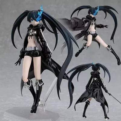 ФОТО Figma SP012 animation star black rock shooter rock shooter Black Cannon movable hand model