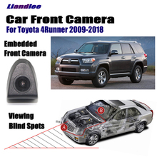 Liandlee AUTO CAM Car Front View Camera For Toyota 4Runner 2009-2018 2010 2015 2012 ( Not Reverse Rear Parking )