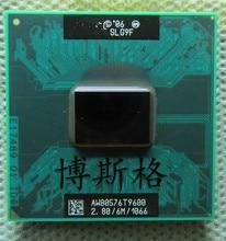 T9600 2.80 ghz 6 mb l2 cache 1066 mhz cpu processador móvel (trabalhando 100% frete grátis)
