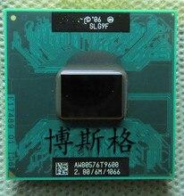 معالج هواتف محمولة T9600 2.80GHz 6MB L2 كاش 1066MHz CPU (يعمل 100% شحن مجاني)
