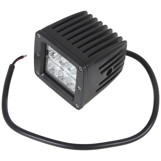 Brand New Hot Sale! 18W 6 x 3W 1300LM LEDs Work Light Suitable for Motorcycle / Tractor / Boat / 4WD Offroad / SUV / ATV