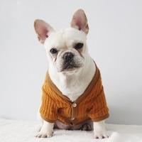 Herbst Winter Hund Jacke Warm Fashion Wolle Kleine/Medium Pet Kleidung Luxus Neuen Stil Feste Welpen Kostüm mantel