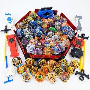 Nuevo juego de juguetes Beyblade Burst, de B-117 B-127, baberos, Bayblade, arena, Toupie, fusión de metales, Dios Bey Blade, cuchillas de juguete