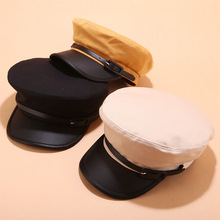 2019 New Fashion Beret hat Military Caps Hats for Women Flat Army Salior Hat Octagonal cap