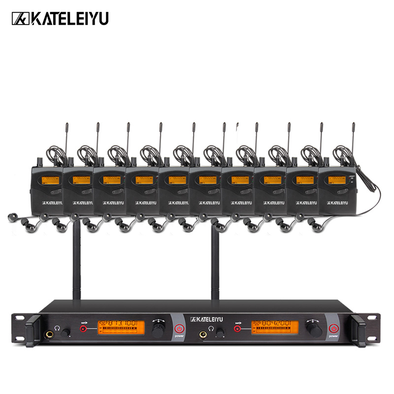 EM2050 Wireless in ear Monitor System 10 ear monitoring systems wireless stage monitor system EM2050 IEM bodypack monitor ukingmei uk 2050 wireless in ear monitor system sr 2050 iem personal in ear stage monitoring 2 transmitter 2 receivers