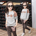 Kids Cartoon Sets for Girls Tracksuits Casual Suits for Girl Autumn Outfits Children Tops+Pants Infant Clothes Set Clothing Sets