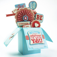 Eno Greeting Valentine Pop Up Box Card Making Kit Birthday Wedding Gift 3D