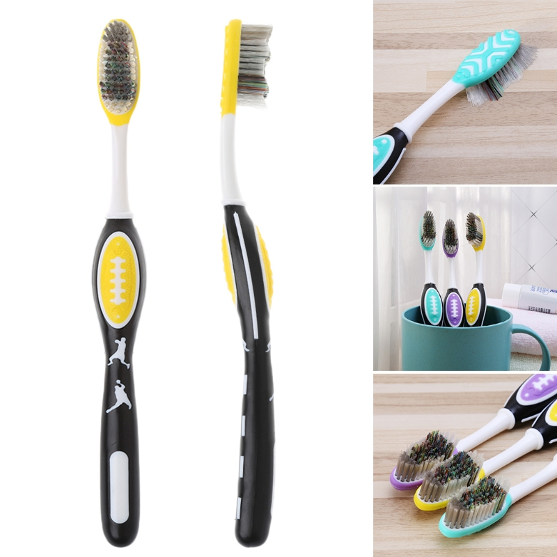 1pc hard bristles Toothbrush for Men Tooth Brush Oral Care Remove smoke stains image