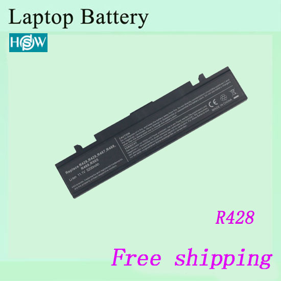 Hot sale  Original Laptop Battery For SAMSUNG R428 Q320 R460 R430 R429 R464 R463 R462 R467 11.1V 4400mah