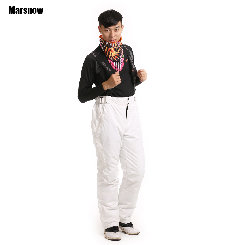 New M-3XL outdoor sports pants mountaineering trousers fleece liner Windproof waterproof keep warm ski pants men winter