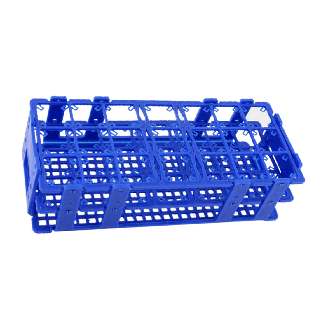 Affordable Blue Plastic 21 Holes Box Rack Holder For 50ML Centrifuge Tubes