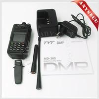 TYT md-380 DMR digital uhf radio 400-480MHz radios with programming cable+battery car eliminator
