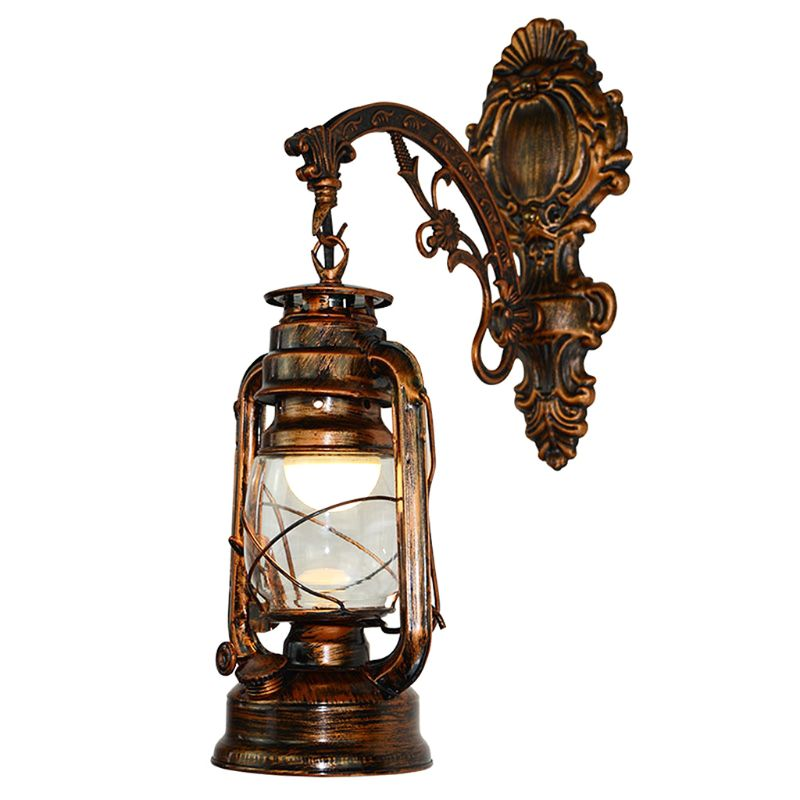 Home Appliances Adroit Vintage Led Wall Lamp Barn Lantern Retro Kerosene Wall Light European Antique Style Volume Large