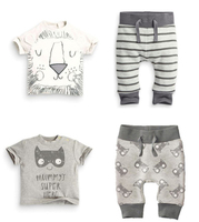 New 2 Piece Clothes Set Baby Girl Pants Blouse Summer Style Newborn Baby Clothing Sets Boy