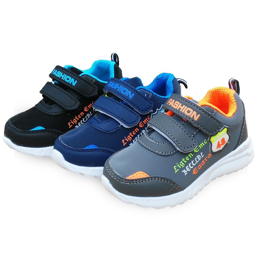 Fashion 1pair Autumn Sneaker Leather Arch Support Children Orthopedic  Shoes, New Kids Shoes