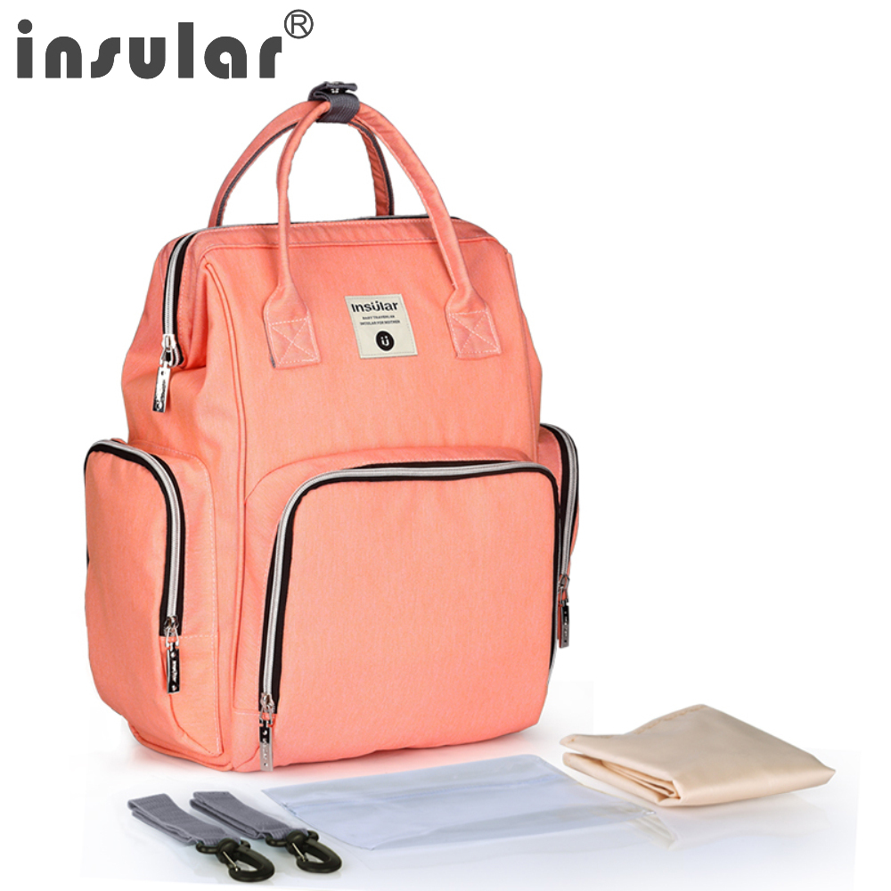6e86865308a insular Maternity Travel Backpack Diaper Bag for Baby Care